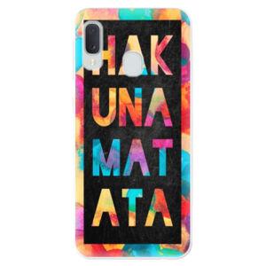 Odolné silikónové puzdro iSaprio - Hakuna Matata 01 - Samsung Galaxy A20e