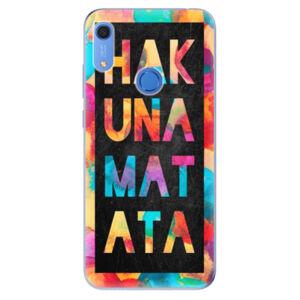 Odolné silikónové puzdro iSaprio - Hakuna Matata 01 - Huawei Y6s