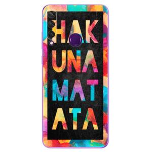 Odolné silikónové puzdro iSaprio - Hakuna Matata 01 - Huawei Y6p