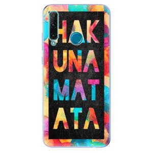Odolné silikónové puzdro iSaprio - Hakuna Matata 01 - Honor 20e