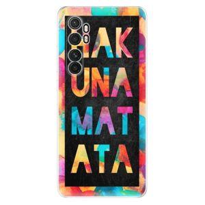 Odolné silikónové puzdro iSaprio - Hakuna Matata 01 - Xiaomi Mi Note 10 Lite