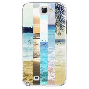 Plastové puzdro iSaprio - Aloha 02 - Samsung Galaxy Note 2