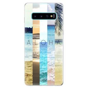 Odolné silikonové pouzdro iSaprio - Aloha 02 - Samsung Galaxy S10