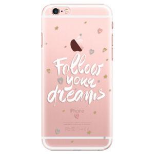 Plastové puzdro iSaprio - Follow Your Dreams - white - iPhone 6 Plus/6S Plus