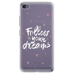 Plastové puzdro iSaprio - Follow Your Dreams - white - Lenovo S90