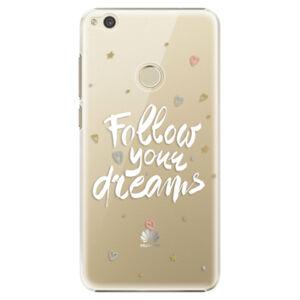 Plastové puzdro iSaprio - Follow Your Dreams - white - Huawei P9 Lite 2017