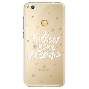 Plastové puzdro iSaprio - Follow Your Dreams - white - Huawei Honor 8 Lite