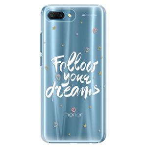 Plastové puzdro iSaprio - Follow Your Dreams - white - Huawei Honor 10