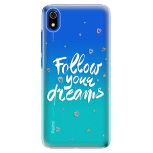 Plastové puzdro iSaprio - Follow Your Dreams - white - Xiaomi Redmi 7A
