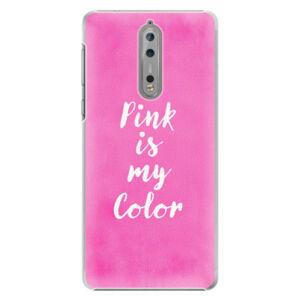 Plastové puzdro iSaprio - Pink is my color - Nokia 8