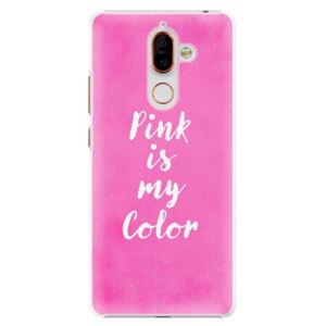 Plastové puzdro iSaprio - Pink is my color - Nokia 7 Plus