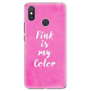 Plastové puzdro iSaprio - Pink is my color - Xiaomi Mi Max 3
