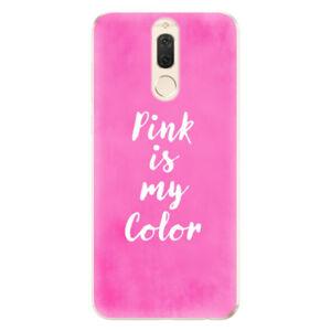 Odolné silikónové puzdro iSaprio - Pink is my color - Huawei Mate 10 Lite