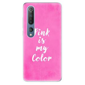 Odolné silikónové puzdro iSaprio - Pink is my color - Xiaomi Mi 10 / Mi 10 Pro