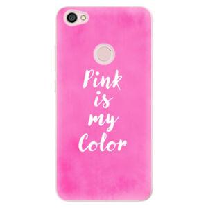Odolné silikónové puzdro iSaprio - Pink is my color - Xiaomi Redmi Note 5A / 5A Prime