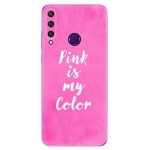 Odolné silikónové puzdro iSaprio - Pink is my color - Huawei Y6p