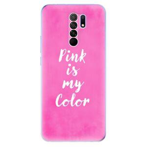 Odolné silikónové puzdro iSaprio - Pink is my color - Xiaomi Redmi 9