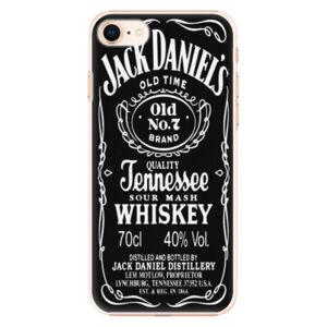 Plastové puzdro iSaprio - Jack Daniels - iPhone 8