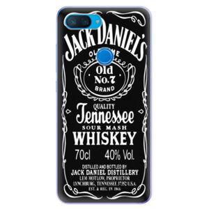 Odolné silikonové pouzdro iSaprio - Jack Daniels - Xiaomi Mi 8 Lite