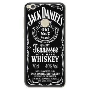 Odolné silikónové puzdro iSaprio - Jack Daniels - Huawei P9 Lite 2017