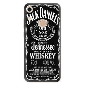 Odolné silikónové puzdro iSaprio - Jack Daniels - Huawei Honor 8A