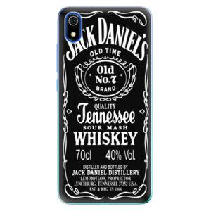 Odolné silikónové puzdro iSaprio - Jack Daniels - Xiaomi Redmi 7A