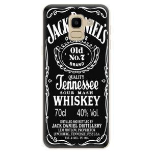 Odolné silikónové puzdro iSaprio - Jack Daniels - Samsung Galaxy J6