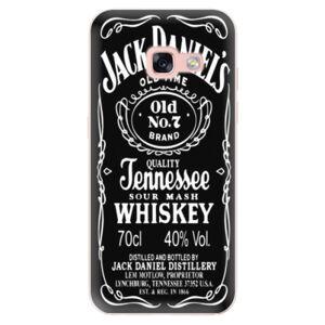 Odolné silikónové puzdro iSaprio - Jack Daniels - Samsung Galaxy A3 2017