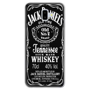 Odolné silikónové puzdro iSaprio - Jack Daniels - Samsung Galaxy J6+