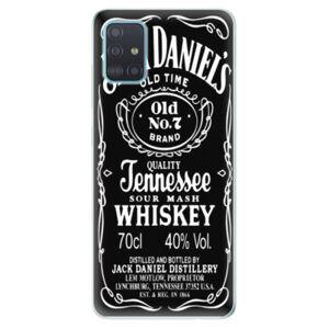 Odolné silikónové puzdro iSaprio - Jack Daniels - Samsung Galaxy A51