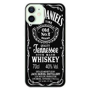 Odolné silikónové puzdro iSaprio - Jack Daniels - iPhone 12