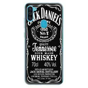 Odolné silikónové puzdro iSaprio - Jack Daniels - Samsung Galaxy M11