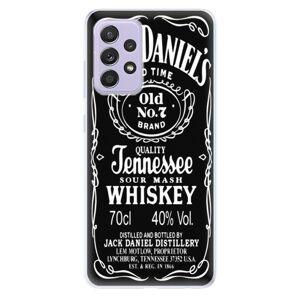 Odolné silikónové puzdro iSaprio - Jack Daniels - Samsung Galaxy A52/A52 5G
