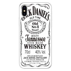 Silikónové puzdro iSaprio - Jack White - iPhone X