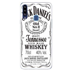 Odolné silikónové puzdro iSaprio - Jack White - Samsung Galaxy A20s