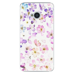Plastové puzdro iSaprio - Wildflowers - HTC One M7
