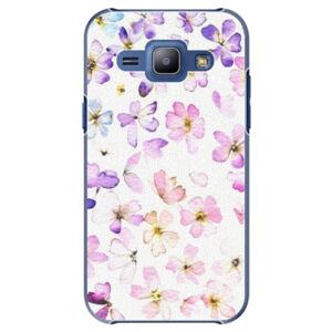 Plastové puzdro iSaprio - Wildflowers - Samsung Galaxy J1