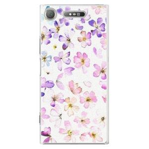 Plastové puzdro iSaprio - Wildflowers - Sony Xperia XZ1