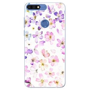 Silikónové puzdro iSaprio - Wildflowers - Huawei Honor 7C
