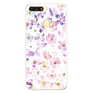 Silikónové puzdro iSaprio - Wildflowers - Huawei Honor 7A