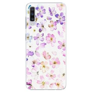 Plastové puzdro iSaprio - Wildflowers - Samsung Galaxy A70