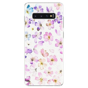 Plastové puzdro iSaprio - Wildflowers - Samsung Galaxy S10+