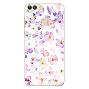 Odolné silikónové puzdro iSaprio - Wildflowers - Huawei P Smart