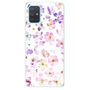 Odolné silikónové puzdro iSaprio - Wildflowers - Samsung Galaxy A71