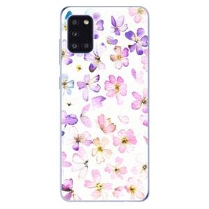 Odolné silikónové puzdro iSaprio - Wildflowers - Samsung Galaxy A31