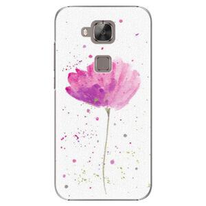 Plastové puzdro iSaprio - Poppies - Huawei Ascend G8