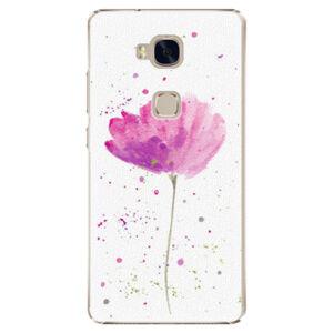 Plastové puzdro iSaprio - Poppies - Huawei Honor 5X