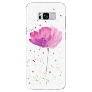 Plastové puzdro iSaprio - Poppies - Samsung Galaxy S8