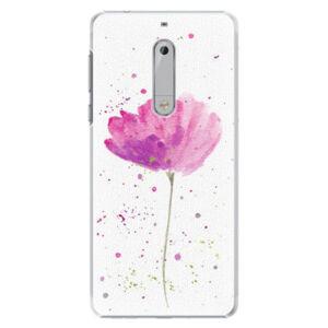 Plastové puzdro iSaprio - Poppies - Nokia 5