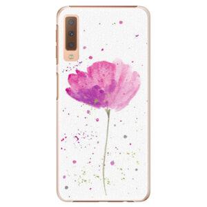 Plastové puzdro iSaprio - Poppies - Samsung Galaxy A7 (2018)